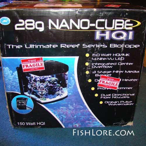 Nano Cube Reef Tank Box