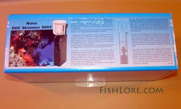 Box view of the Tunze skimmer