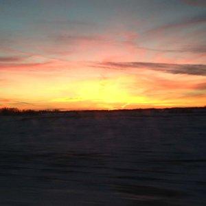 Winter Sunset 2014